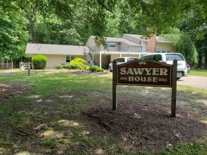 Sawyer House - front 1