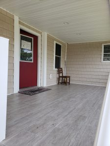 Anna House - front porch